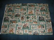 NEW COTTON/POLYESTER WILDLIFE QUILT FABRIC