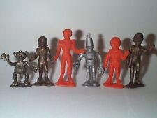 MPC 1960'S GERRY ANDERSON TV SHOW FIREBALL XL-5 ROCKETSHIP CREW FIGURES SET MINT