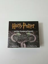CD Audio Book Harry Potter and the Chamber of Secrets 8 Disc Set Stephen Fry