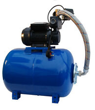 "IBO 1""WZI250 BOOSTER WATER PUMP silent,small,electric,garden+50L pressure VESSEL"
