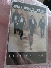 NEW IN PLASTIC OAK RIDGE BOYS 'STEP ON OUT' AUDIO CASSETTE TAPE