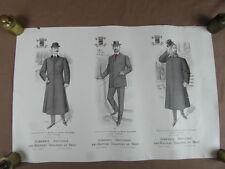 AFFICHE 1905 LES MAITRES TAILLEURS mode  (FASHION PETIT ECHO illustree) (13)