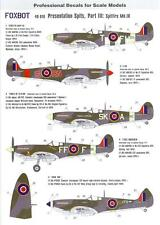 Foxbot Decals 1/48 PRESENTATION SPITS Part 3 SPITFIRE MK.IX