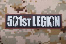 StarWars 501st Legion Vader's fist 3D PVC Patch