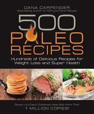 500 PALEO RECIPES Weight Loss Diet Gluten Dairy free NEW cookbook book Primal