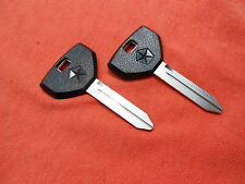 2 DODGE PLYMOUTH CHRYSLER OEM KEY BLANKS 1994 -1999