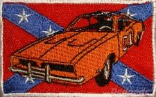 The Dukes of Hazzard Embroidered Patch General Lee Car with County Flag Stars