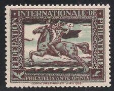 Österreich 1929, Ludwig Hesshaimer Vignette bzw. Essay Postreiter postfrisch