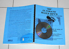 100 ULTIMATE BLUES RIFFS by Andrew D. Gordon Manuale + Cd - 1995 Guide Keyboard