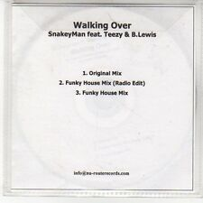 (EN890) Walking Over, SnakeyMan ft Teezy & B Lewis - DJ CD