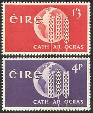 Ireland 1963 FAO/FFH/Freedom From Hunger/Wheat/Crops/Food/UN 2v set (n41306)
