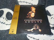 Consenting Adults Letterbox Laserdisc LD Kevin Kline Free Ship $30 Orders