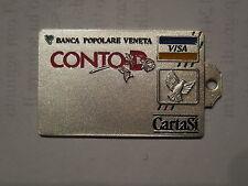 medaglia tipo carta di credito banca popolare Veneta