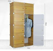SUPREME- PLASTIC WARDROBE CUPBOARD ALMIRAH -LKL-36- WC- LY