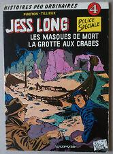 PIROTON  ** JESS LONG 4. LES MASQUES DE MORT  **  EO 1978 TBE