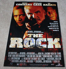 DIRECTOR MICHAEL BAY SIGNED 'THE ROCK' 12X18 MOVIE POSTER PHOTO w/COA NIC CAGE