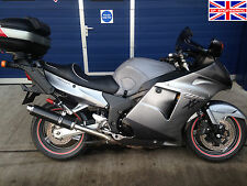Honda CBR1100XX Blackbird SP Engineering Carbon Fibre Round Moto GP XL Exhausts