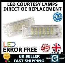 BMW 6 SERIES F12 F13 WHITE 18 SMD LED UNDER DOOR FOOTWELL LIGHTS UPGRADE UNITS