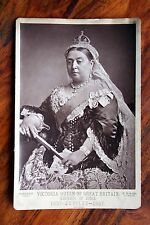 VICTORIA QUEEN OF GREAT BRITAIN EMPRESS OF INDIA 1887 JUBILEE PHOTOGRAPH BASSANO