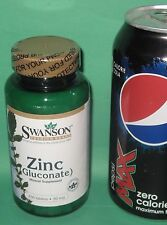 Zinc (Gluconate), from Swanson     250 tablets, 30 mg each