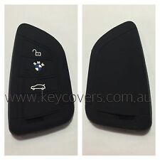 BMW BLACK CAR SMART KEY COVER CASE PROTECTOR NEW X5 2014 + 2015 SPORT FOB M