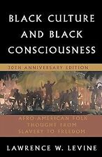 Black Culture and Black Consciousness : Afro-American Folk Thought from...