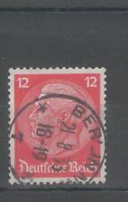 Deutsches Reich 1933 timbro pieno Berlino NW MiNr. 487 timbrato ex 482 - 495