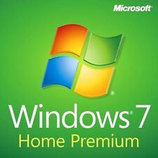 Windows 7 home premium 32/64 bit oem licence coa de cassé ordinateur portable free isolink