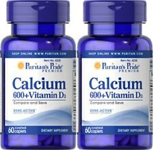 CALCIUM CARBONATE 600mg + VITAMIN D 250 IU DIETARY SUPPLEMENT 120 COATED CAPLETS