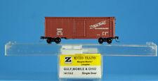 14113-2 GULF MOBILE & OHIO 5675 ~ 40' BOXCAR ~ MTL MICRO TRAINS Z SCALE