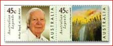 AUS9900 Legends of Australian painting A.Boyda 2 stamps