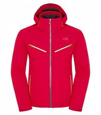 The North Face Men's HIDAKA Insulated Luxury Stretch Board Ski Jacket Rage Red M