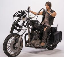 McFarlane THE WALKING DEAD TV DARYL DIXON ON CHOPPER CM NEW IN BOX!