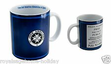 DR288 20oz Doctor Who Tardis Mug Time Machine BBC Police Call Box Coffee Tea Cup