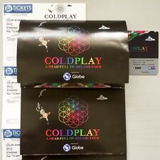 COLDPLAY Manila Concert Tickets - Gold - A Head Full of Dreams Tour