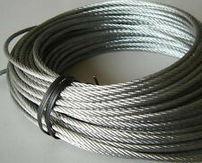 5mm 316 Stainless Steel Cable Wire Rope Grade 7x19 wire rope  13/64""