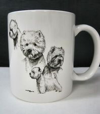 Westie West Highland Terrier Cup Mug Container Coffee Tea Dog Show Puppy