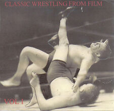 Classic Wrestling DVD Buddy Rogers, Jim Londos, Vincent Lopez, Man Mountain Dean