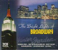 THE BRIGHT LIGHTS THE BEST OF BROADWAY Classics 2 Disc SOUNDTRACK MUSIC CD New