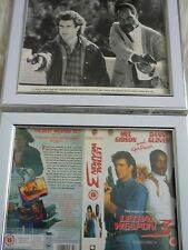 Framed Lobby card Lethal weapon 2 + 3 Vhs Press & Poster B Movies Photo Dvd