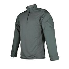 Tru-Spec 2584004 Men's OD Cotton Blend Urban Force 1/4 Zip Combat Shirt - M