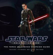 Star Wars Saga Ed RPG - The Force Unleashed Campaign Guide - Role-Playing Game