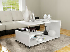 Living Room Furniture Modern Design Coffee Table - White - Free Shipping