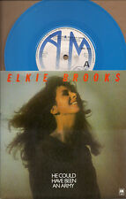 """Elkie Brooks He Could Have Been An Army NM / Brand New Blue Vinyl UK 45 7"""" sgl"""