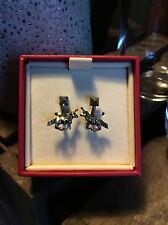 RRP £215 Valentino Unicorn Rockstud Engraved Earrings (Brand new)