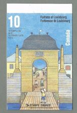 CANADA 1995 - Folded Booklet - FORTRESS OF LOUISBOURG- (10 @ 43c) Complete - MNH
