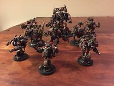 Warhammer 40k Tau Army - Converted Ork Looted  - Pro Painted