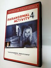 Paranormal Activity 4 (Horror 2012) DVD film di Henry Joost, Ariel Schulman