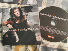 Katie Melua – If The Lights Go Out Dramatico – DRAMCDS0031 Promo UK CD Single