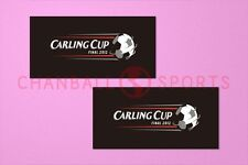 Football League Cup Carling Cup 2012 Final Sleeve Soccer Patch / Badge